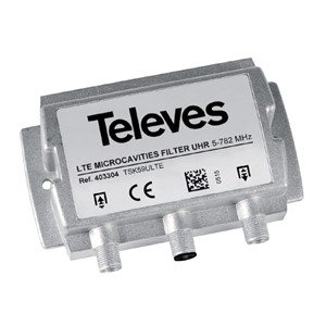 403304 _ LTE filtr 5-782 MHz, microcavity profesional